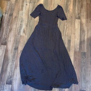 Anthropology long dress